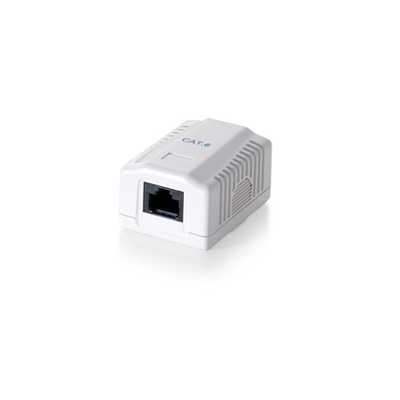 1-Port Cat.6 Surface Mounted Box
